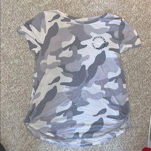 Hollister Camo Easy Shirt